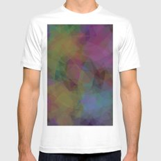 Shapes#2 Mens Fitted Tee White MEDIUM
