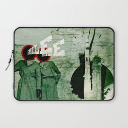 Smile and Enjoy Your Flight Laptop Sleeve
