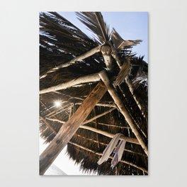 Shelter in Windansea Canvas Print