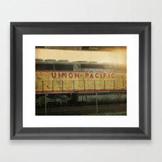 Union Pacific  Framed Art Print