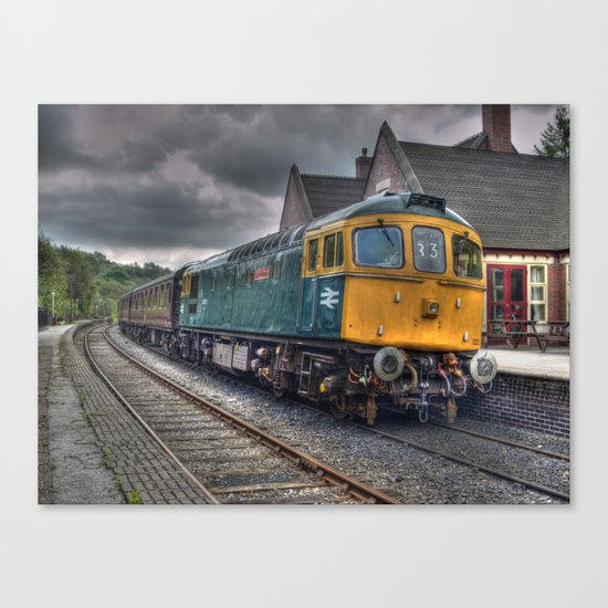 Type 33 locomotive Canvas Print
