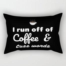 Coffee&Cuss Words Rectangular Pillow