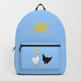 Hens and Sun Backpack