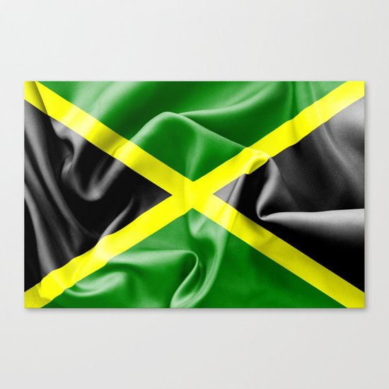 Jamaica Flag Canvas Print