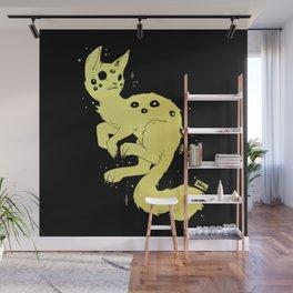 Cute Kawaii Spider Cat, Gothic Creepy Cute Art Wall Mural