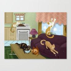 Trouble Makers No. 2 Canvas Print
