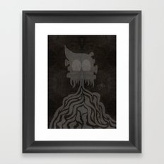 Earl. Framed Art Print