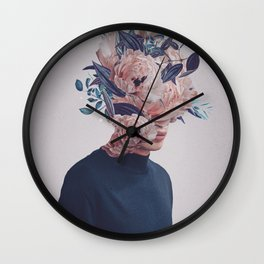 Waited for a Hundred Winters to meet You Wall Clock