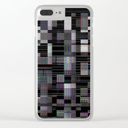 45 thoughts in a morning - in sequence Clear iPhone Case