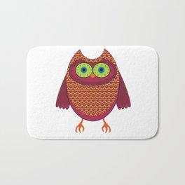 Ronin the Owl Bath Mat