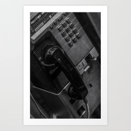 Phoneboot Art Print