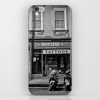 montana iPhone & iPod Skins featuring Montana Tattoos by Melissa Batchelder Photography