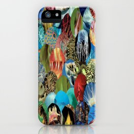 Collage - Feeling Fishy iPhone Case