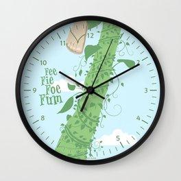 Fee Fie Foe Fum ! Wall Clock