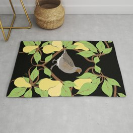 12 Days of Christmas: Partridge in a Pear Tree Rug