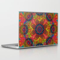 baroque Laptop & iPad Skins featuring baroque mandalas by Norma Lindsay
