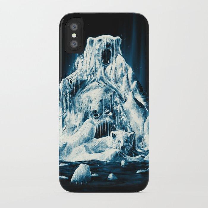 Melting Icebears iPhone Case