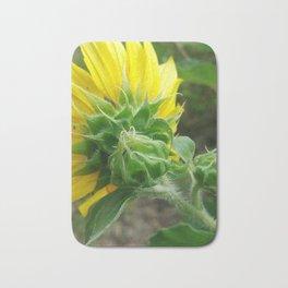 Birth of Sunflower Bath Mat