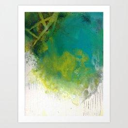 Spirit Map Oceans Art Print