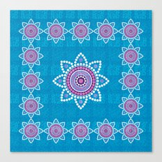 Asian ornament Canvas Print