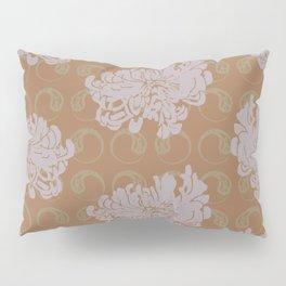 Chrysanthemums and Paisley 2 Pillow Sham