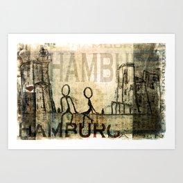 Hamburg Art Print