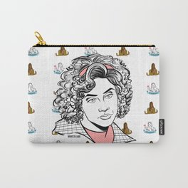 Virgin Who Can't Drive Carry-All Pouch
