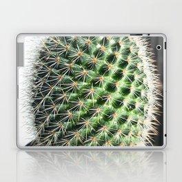 closeup green cactus texture with morning sunlight Laptop & iPad Skin