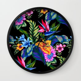 Jungle Vibe Wall Clock
