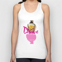 video game Tank Tops featuring Drive Video Game by Simon Alenius