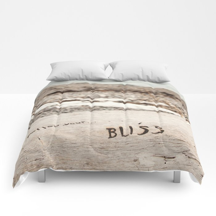 Follow Your Bliss Comforters