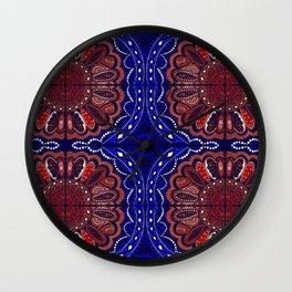 Patriotic Bandanna Wall Clock