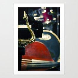 Jazz Quartet Art Print