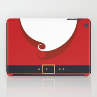 santa iPad Cases featuring Santa by Sara Eshak