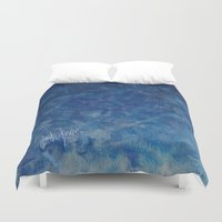 blues Duvet Covers featuring BLUES by Dash of noir