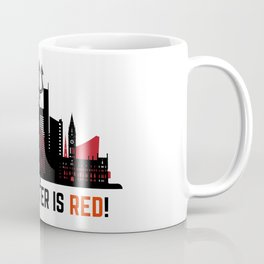 Manchester is Red Coffee Mug