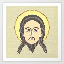 jesus icon Art Print