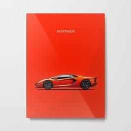 Aventador Metal Print