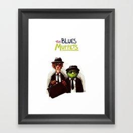 The Blues Muppets Framed Art Print