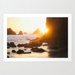El Matador Sunset Art Print