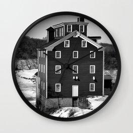 Potters Grist Mill Wall Clock