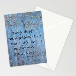 He That Wins Souls Stationery Cards