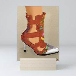 Red Boot Mini Art Print