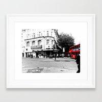 theatre Framed Art Prints featuring Novello theatre  by Jemma Horton