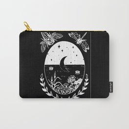 Moon River Marsh Illustration Invert Carry-All Pouch