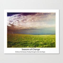 Seasons of Change Canvas Print