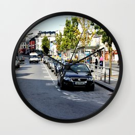 Taxi Stand, Eyre Square, Galway Wall Clock