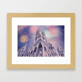 Barcelona Sagrada Familia Framed Art Print