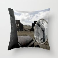 truck Throw Pillows featuring Truck by Susy Margarita Gomez