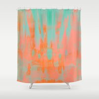 carousel Shower Curtains featuring Carousel by Denise Medina
